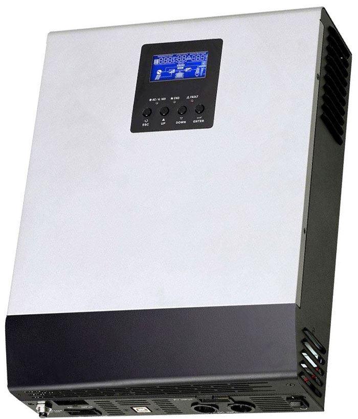 Kombinovaný měnič napětí PS3K-2450, DC/AC 24V/2400W, regulátor PWM