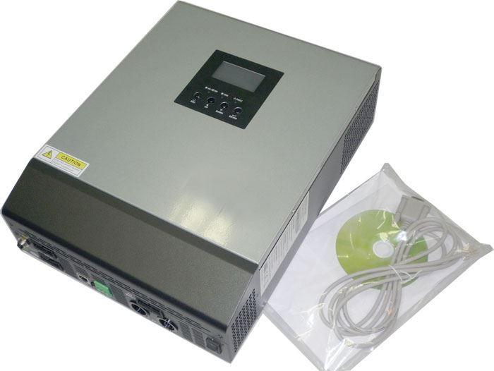 Kombinovaný měnič napětí 3KVA-24, DC/AC 24V/3000W, regulátor PWM