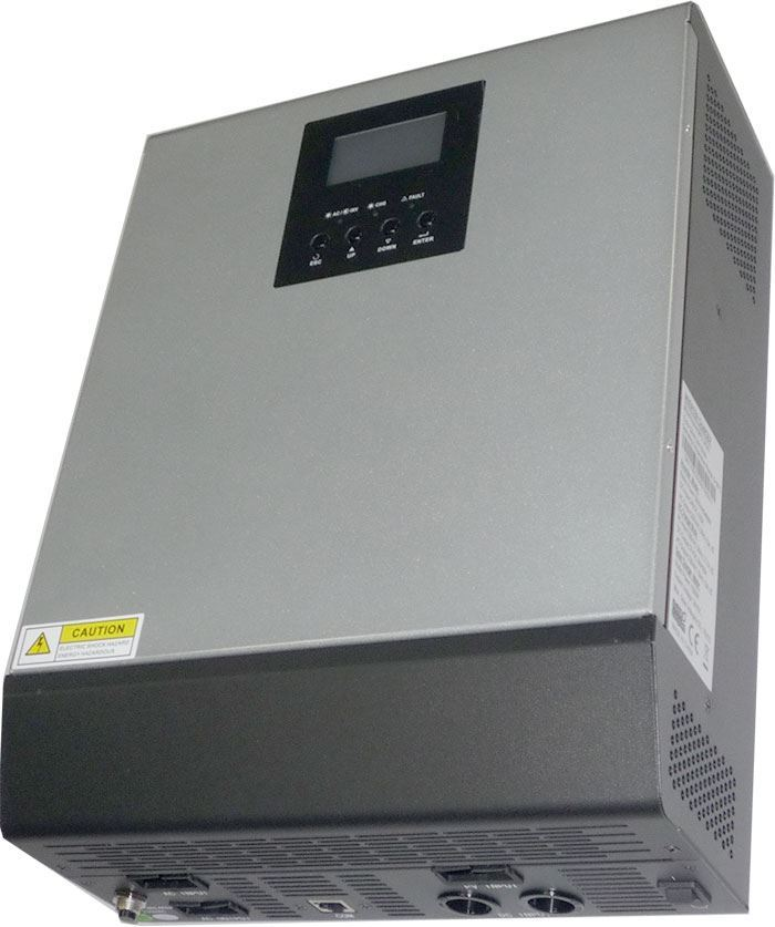 Kombinovaný měnič napětí MPS3KVA-24, DC/AC 24V/2400W, regulátor MPPT