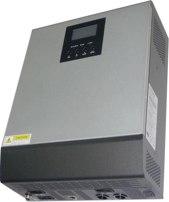 Kombinovaný měnič napětí MPS3KVA-24, funkční, deformace rámečku