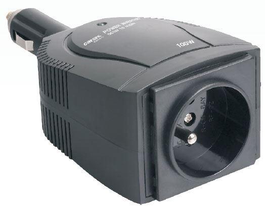 Měnič napětí CAR1001, 12V/230V+USB 100W,  použitý, vadný