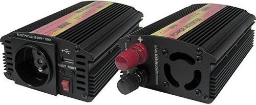 Měnič 12V/230V 300W,modifikovaná sinus,CARSPA, použitý, vadný