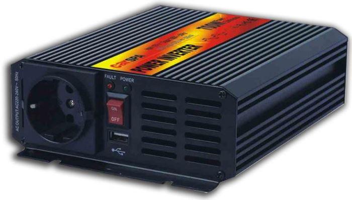 Měnič 24V/230V 700W,modifikovaná sinusovka,CARSPA