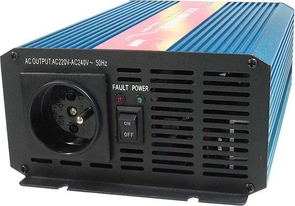 Měnič 24V/230V 600W,čistá sinusovka,CARSPA
