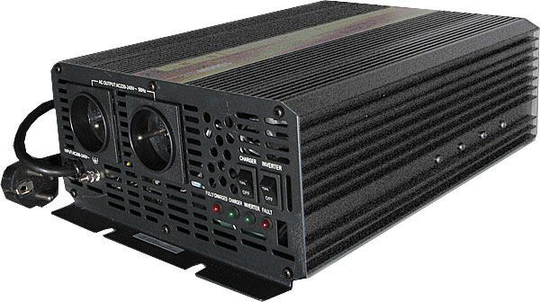 Měnič 12V/230V+UPS 1500W,modif.sinusovka,CARSPA
