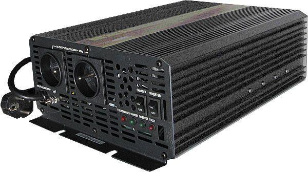 Měnič napětí+UPS 12V/230V/2000W, CARSPA UPS2000, modifikovaná sinus.