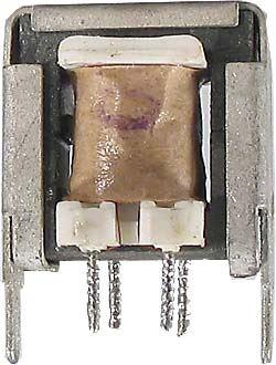 Trafo na feritu EE 16x16x8mm,poměr závitů 1:8
