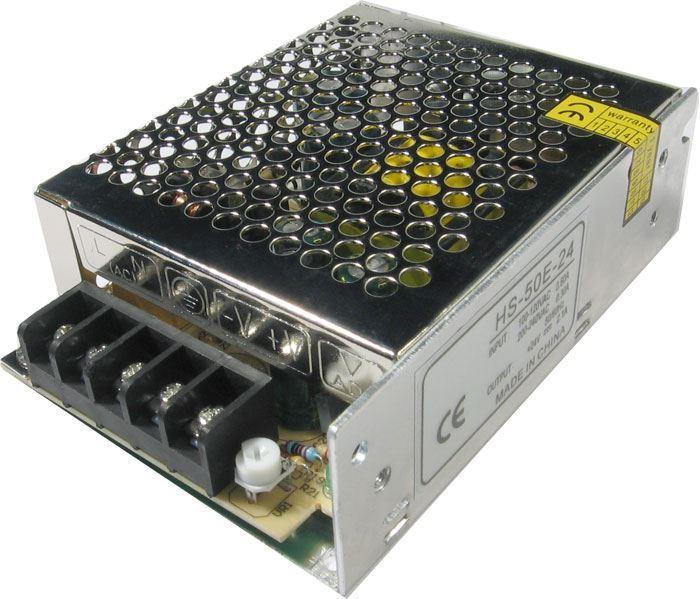Průmyslový zdroj Carspa HS-50-5, 5V=/50W spínaný