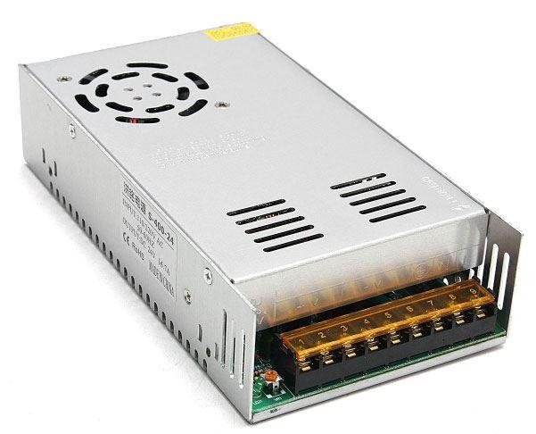 Průmyslový zdroj S-400-24, 24V=/400W spínaný