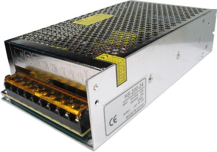 Průmyslový zdroj Carspa HS-200-12, 12V=/200W spínaný
