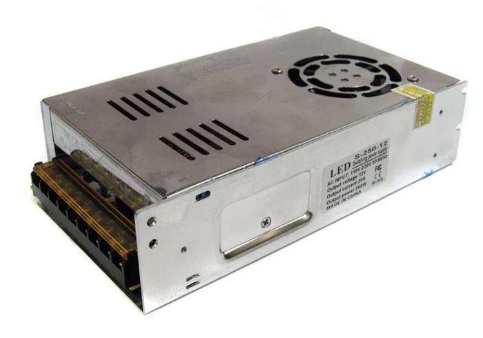 Zdroj 12V=/250W spínaný S-250-12, po opravě