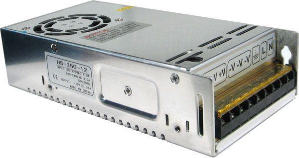 Průmyslový zdroj Jyins S-350-12, 12V=/350W spínaný