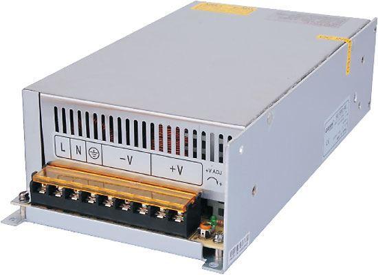 Zdroj 12V=/600W HS-600/12 CARSPA, použitý, po výměně ventilátoru