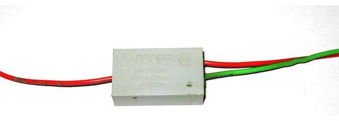 Odrušovací filtr TC255 TESLA 100n+2x2n5 250VAC/6A