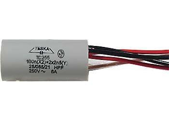 Odrušovací filtr TC259 100n+2x2n5 250VAC/6A