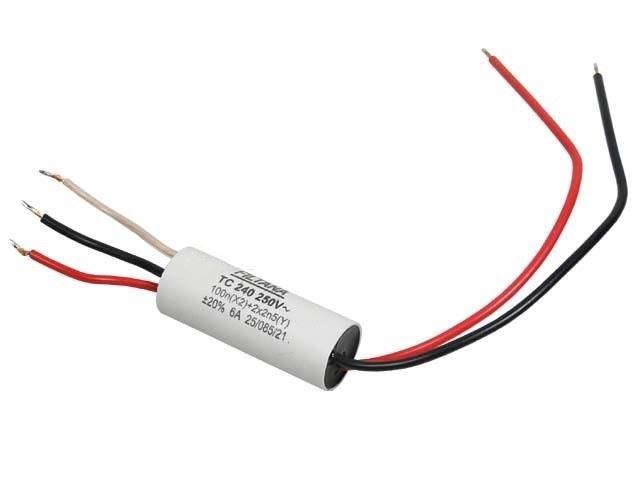 Odrušovací filtr TC240 100n+2x2n5 250V~/4A