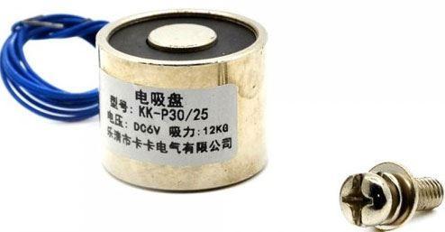 Elektromagnet P40/20 12VDC, 30kg