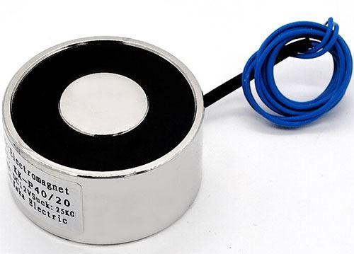 Elektromagnet P40/25 12VDC, 30kg