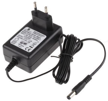 Napáječ, síťový adaptér SMPS 15V/1,2A spínaný, koncovka 5,5x2,1mm