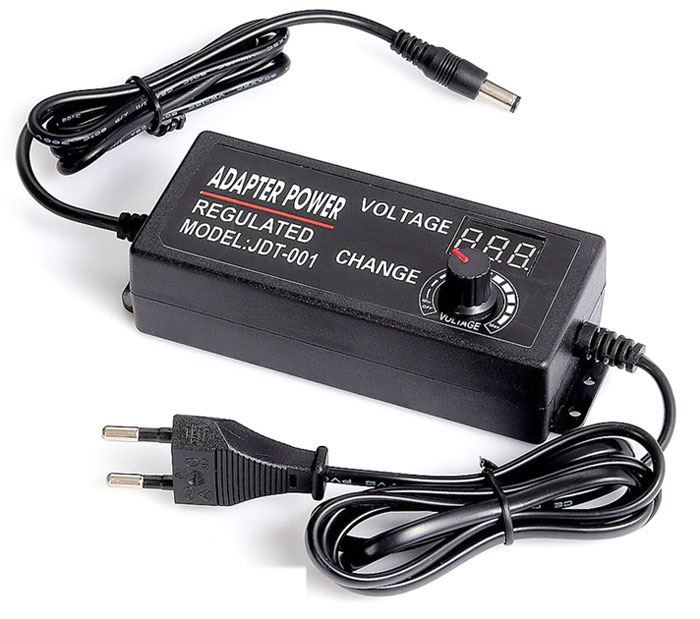 Napáječ, síťový adaptér HLF-001, 3-12V/5A spínaný, regulovatelný