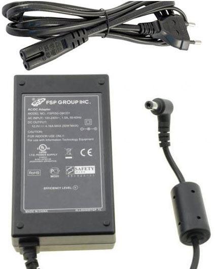 Napáječ, síťový adaptér Sagemcom 12V/5A spínaný, konc.5,5/2,1mm
