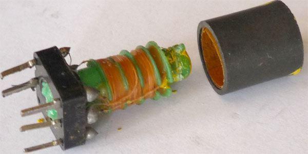 Cívka vf AM 1PK58809
