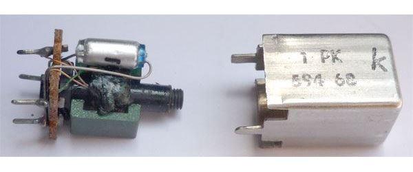 Cívka vf AM 1PK59468 15x12x20mm