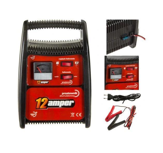 Nabíječka Pb baterií 6-12V/6A GMPHB1212