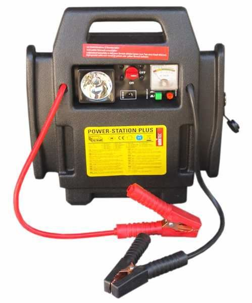 Startovací bateriová stanice 4 v 1 s kompresorem, GMP