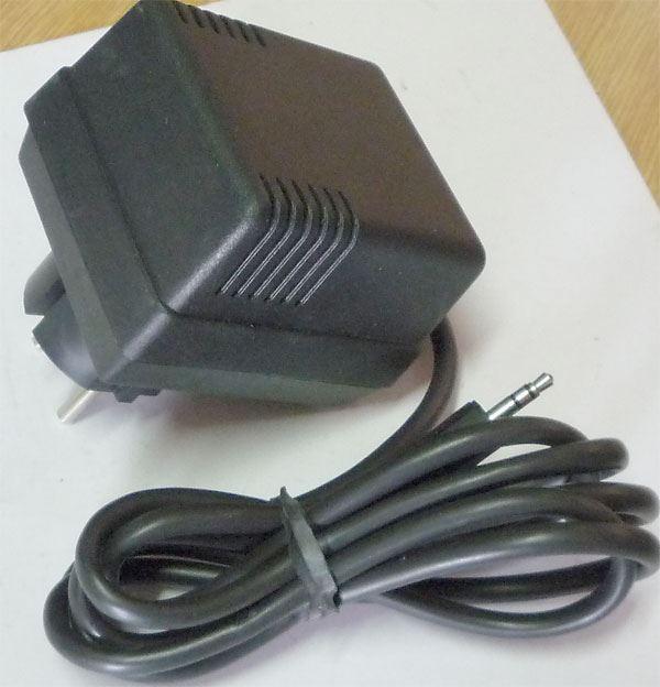 Napáječ, síťový adaptér +-15V/0,066A nestabilizovaný