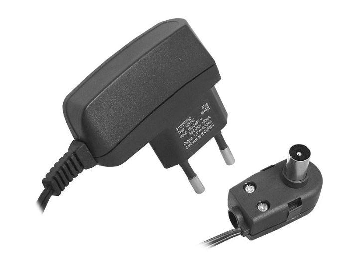 Napáječ, síťový adaptér  12V/330mA s antenní výhybkou, LTC