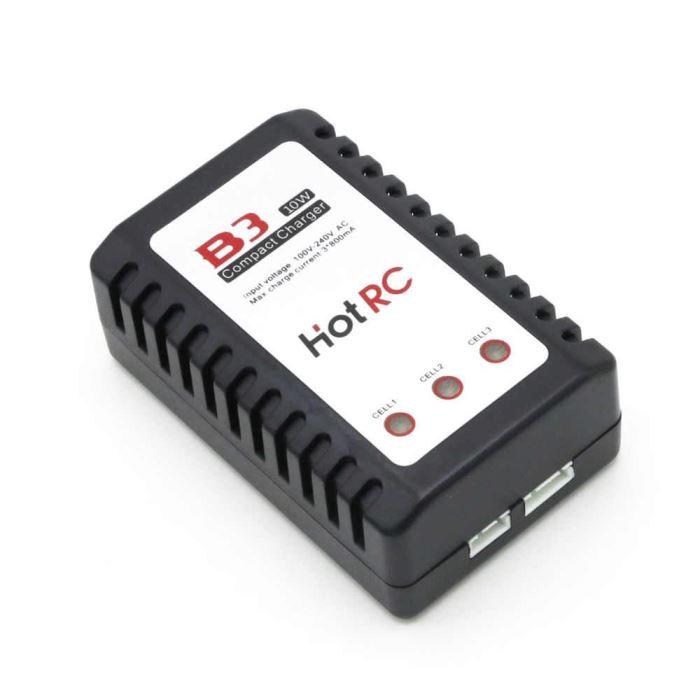 Nabíječka HOTRC B3 10W 0,8A pro 2S-3S LiPo baterie