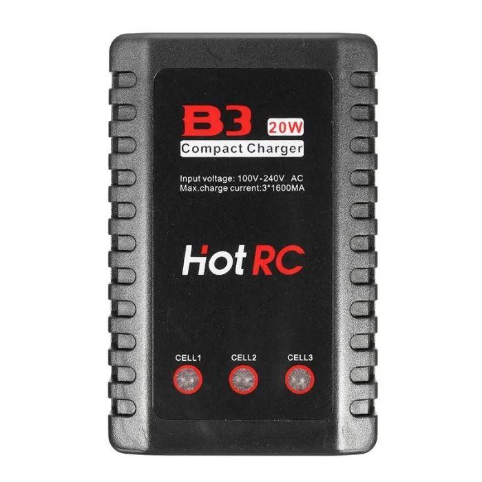 Nabíječka HOTRC B3 20W 1,6A pro 2S-3S LiPo baterie