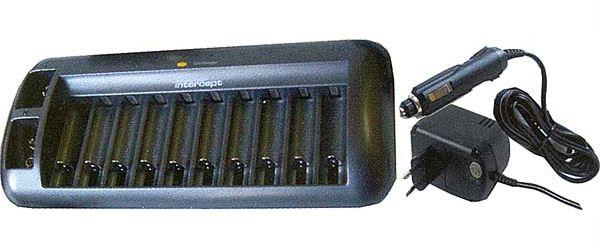 Nabíječka NiCd/NiMH MW8998 1-10x AAA/AA+1-2x 9V