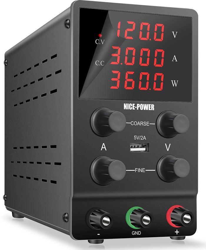 Laboratorní zdroj Nice-Power SPS1203 0-120V/0-3A