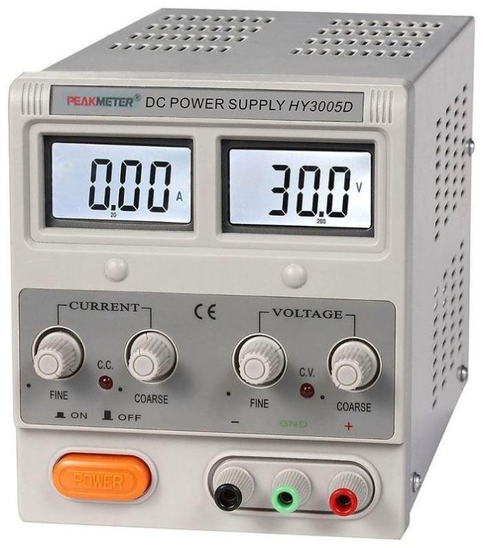 Laboratorní zdroj PeakMeter HY3005D 0-30V/0-5A
