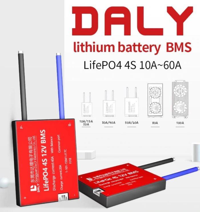 Smart BMS pro 4S LiFePO4 články (12,8V) 50A