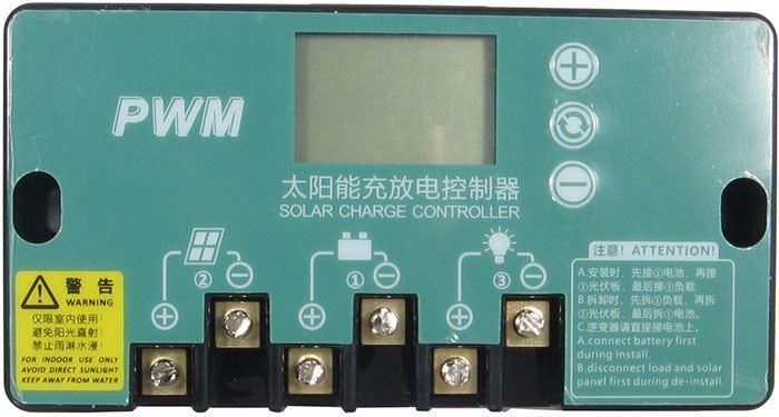 Solární regulátor PWM KTN-E-20A 12-24V/20A