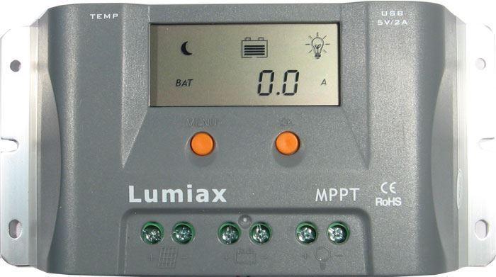 Solární regulátor MPPT Lumiax MT1550EULi, poškozený obal