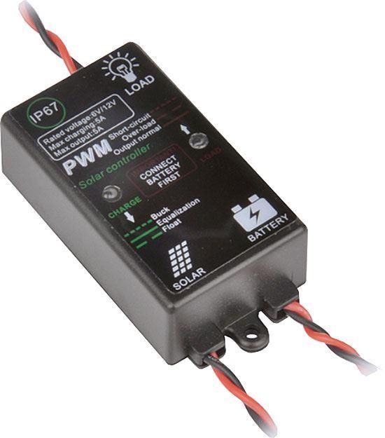 Solární regulátor PWM 12V/5A