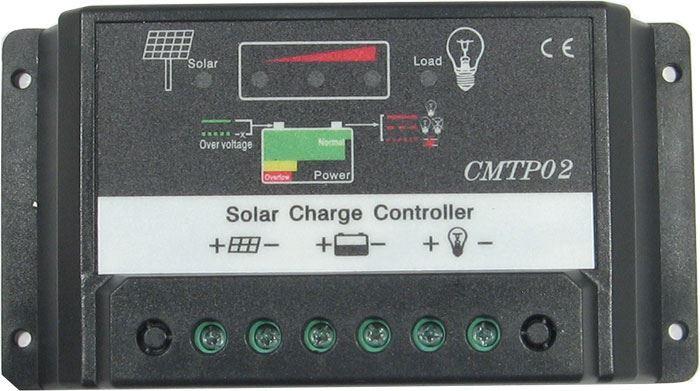 Solární regulátor PWM CMPT02-20 12-24V/20A