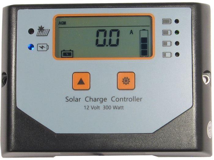 Solární regulátor PWM Win300-N, 12V/20A pro různé baterie