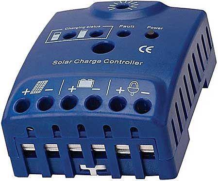 Solární regulátor CARSPA CD12/24-15 12-24V/15A
