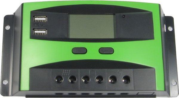 Solární regulátor PWM CL30DU 12-24V/30A