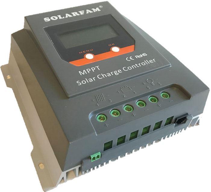 Solární regulátor MPPT Solarfam SX3055Li, 12-24V/30A pro lithiové bat.