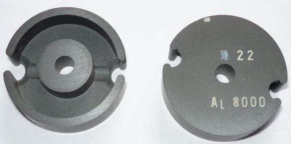 Feritové jádro - hrníček P36x23, materiál H22, Al8000