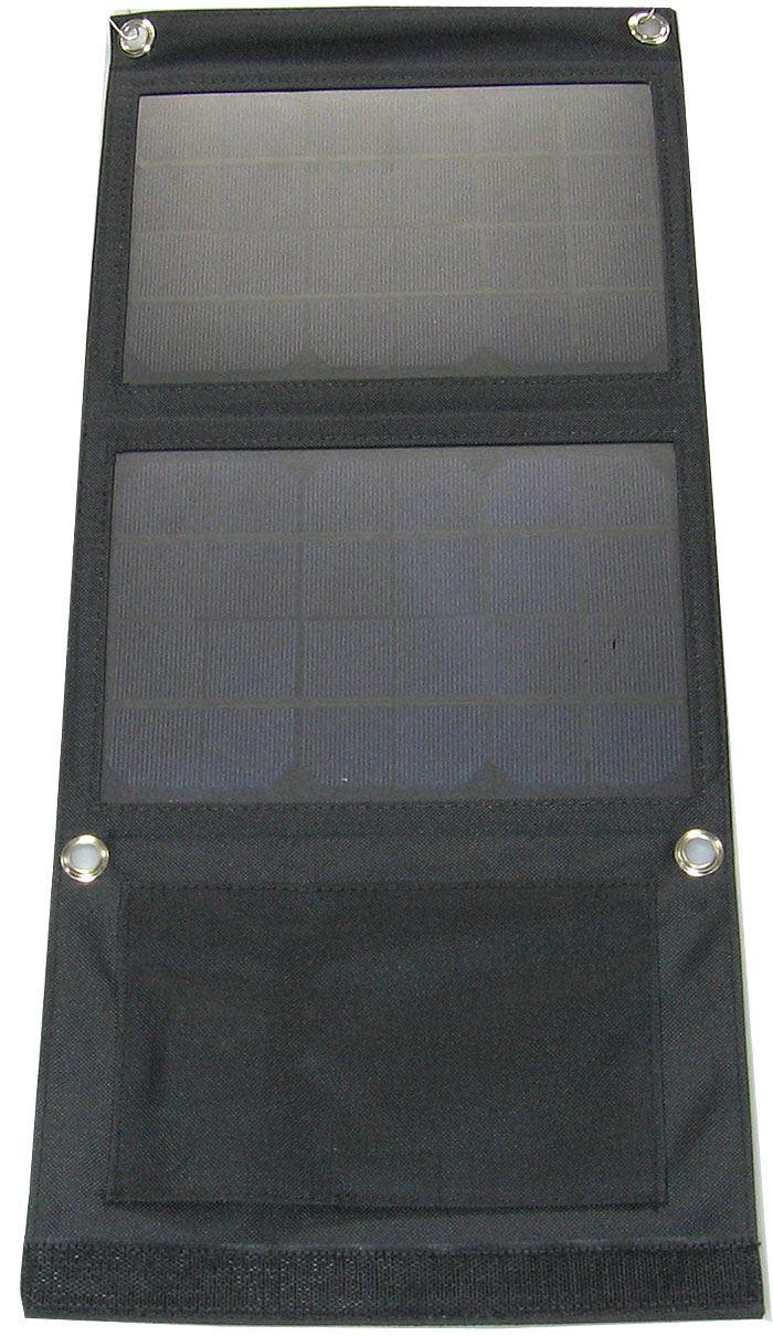 Fotovoltaický solární panel 7W s USB, přenosný, skládací, DOPRODEJ