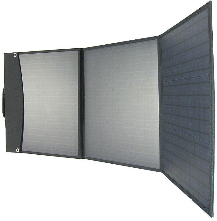 Fotovoltaický solární panel USB+12V/100W přenosný skládací DOPRODEJ