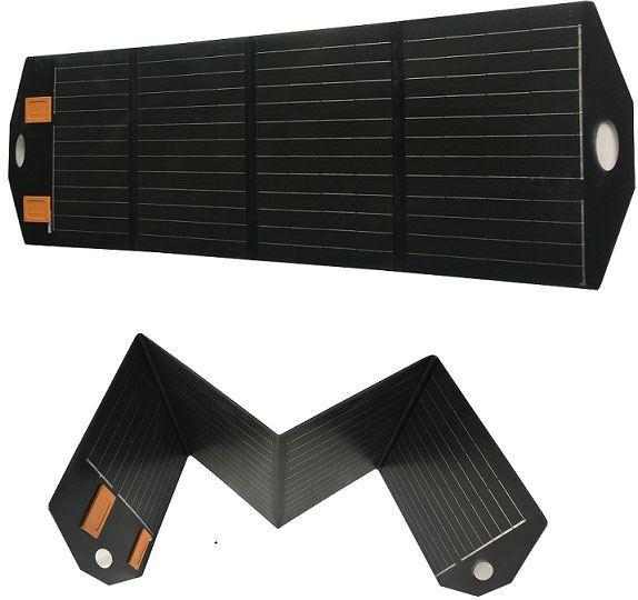 Fotovoltaický solární panel SZ-110W-40MFE, 12V/110W,přenosný s regulát