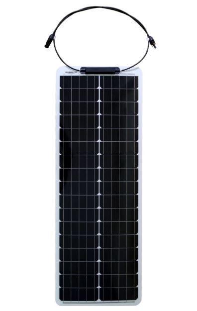 Fotovoltaický solární panel 12V/50W flexibilní long, ECOFLEX